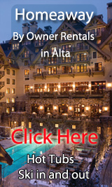 ski in out by owner vacation rentals in alta